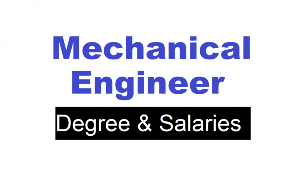 01-Mechanical Engineering Salary Expectations and An Overview of Mechanical Engineering Degree Plan