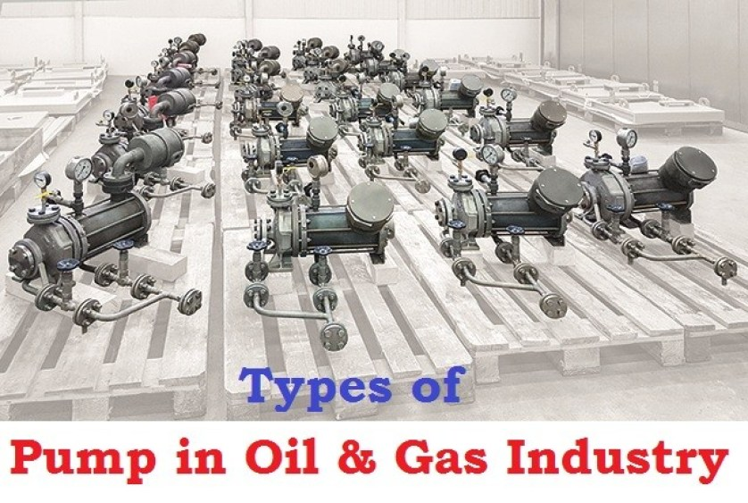 01-Pumps For Oil And Gas Industry - Types Of Pumps Used In Chemical Industry