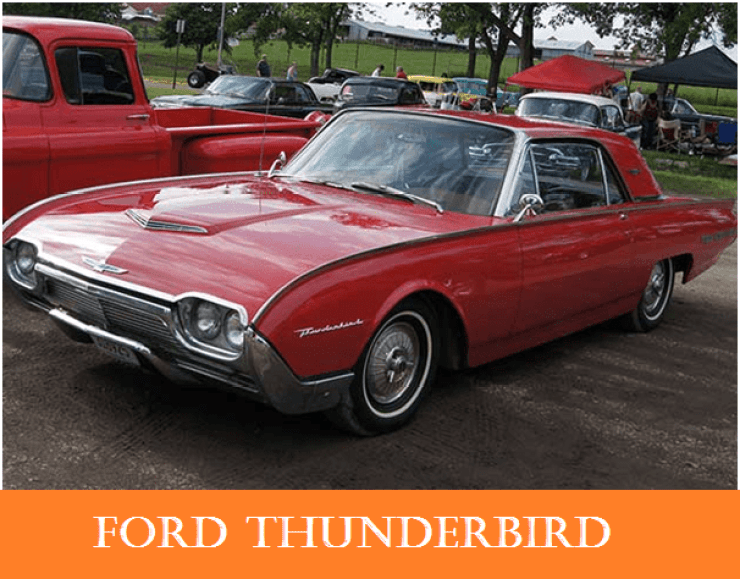01 1960s vintage personal cars ford thunderbird   Why The 1960s Vintage Personal Cars Had Been So Popular Till Now?   1960s Vintage Personal Cars