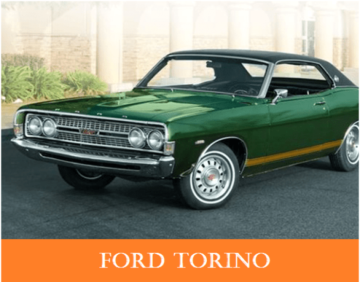 01 1960s vintage personal cars ford torino   Why The 1960s Vintage Personal Cars Had Been So Popular Till Now?   1960s Vintage Personal Cars