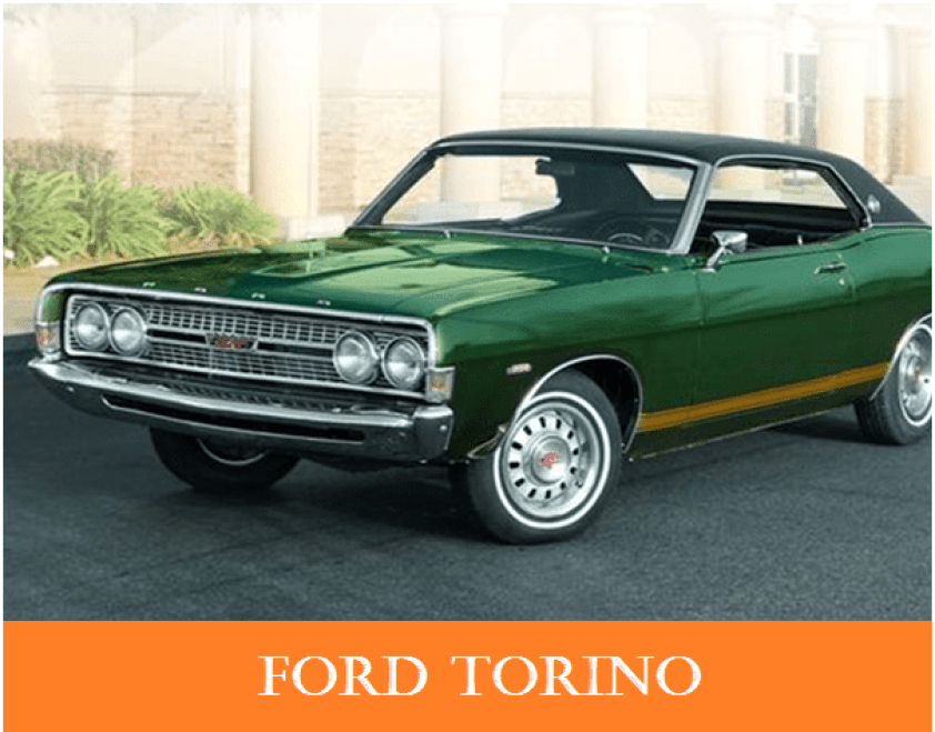 01 1960s vintage personal cars ford torino Alfa romeo spider Automobile Engineering 1960s Vintage Personal Cars
