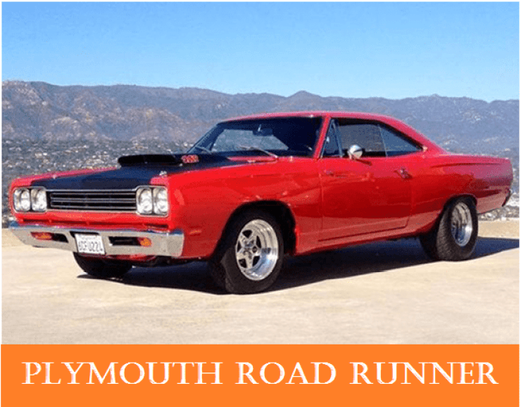 01 1960s vintage personal cars plymouth road runner   Why The 1960s Vintage Personal Cars Had Been So Popular Till Now?   1960s Vintage Personal Cars