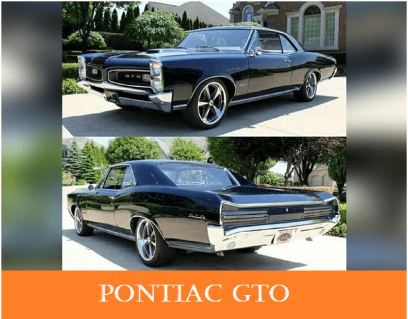 01 1960s vintage personal cars pontiac gto Alfa romeo spider Automobile Engineering 1960s Vintage Personal Cars