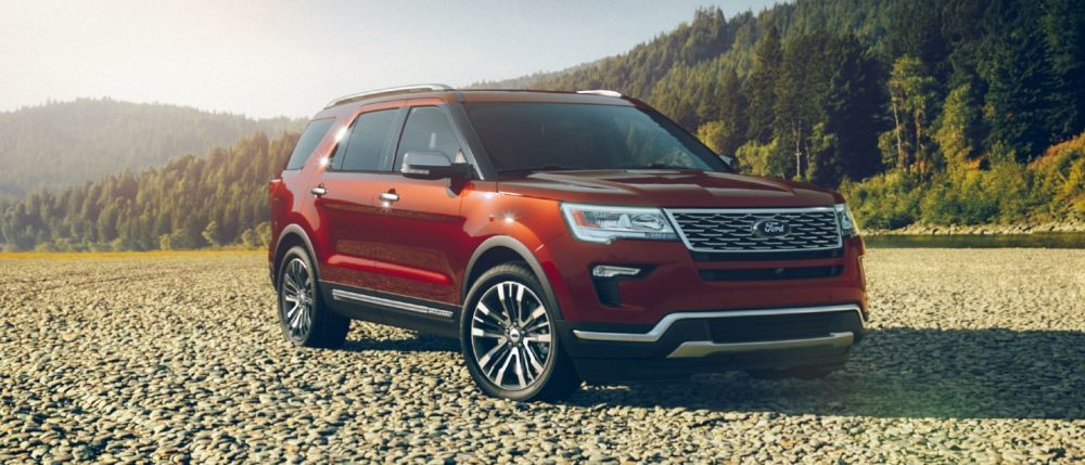 medium resolution of 2019 ford explorer ruby red exterior color
