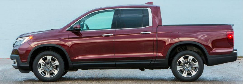 Red Honda Ridgeline