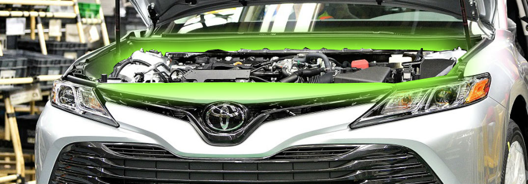 brand new toyota camry engine grand avanza veloz interior 2018 options of massapequa glowing from under the hood le