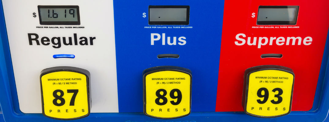 Which grade of gasoline should I use?