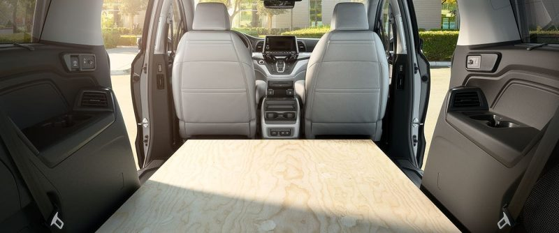 How Much Space Is There Inside The 2019 Honda Odyssey?