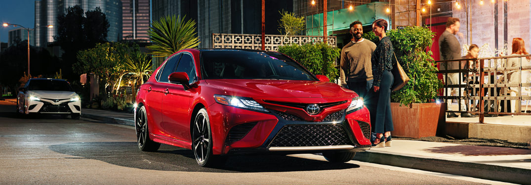 all new camry 2018 innova venturer 2017 does the toyota come standard with advanced safety features