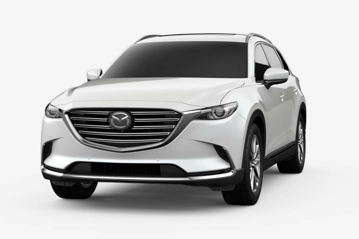 hight resolution of 2019 mazda cx 9 in snowflake white pearl mica
