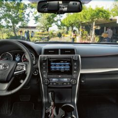 Interior All New Camry 2016 Modifikasi Yaris Trd Sportivo Official Toyota Trim Levels And Prices With Entune Touchscreen