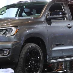 Toyota Yaris Trd Rear Sway Bar Grand New Avanza Type E 2018 All Sequoia Sport Release Date And Design Gray Front Side Exterior On Stage At 2017 Chicago Auto