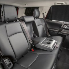 Toyota 4runner Captains Chairs Wood High Chair Does The 2018 Have Third Row Seating Second Of Including Armrest And Cup Holders