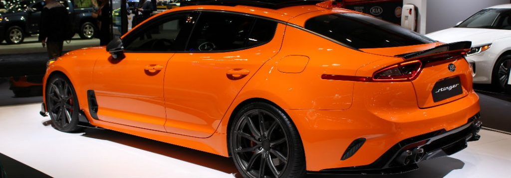 2018 Kia Stinger Image Gallery And Stylistic Information