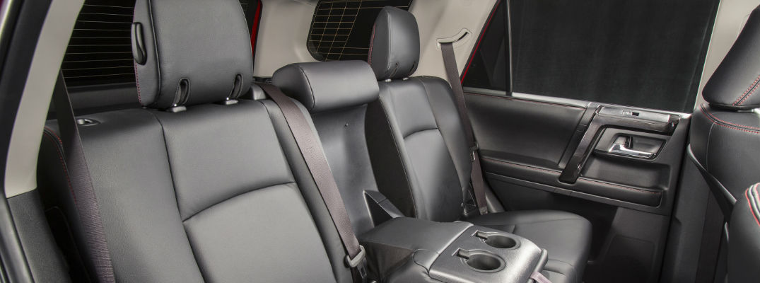 toyota 4runner captains chairs whole foods chair massage does the have standard third row seating