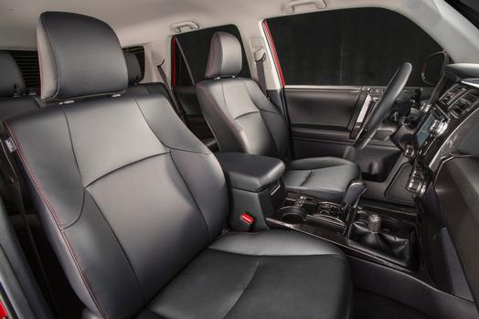 toyota 4runner captains chairs wheelchair narrow does the have standard third row seating 2016 capacity