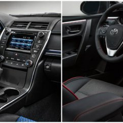 Interior All New Camry 2016 2018 Pantip Toyota Corolla Special Edition Accents Vacaville How Much Will The And Editions Cost