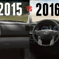 Toyota Yaris 2017 Trd Parts Harga Grand New Avanza 2018 Surabaya Differences Between 2015 And 2016 Tacoma Vs Interior Dashboard