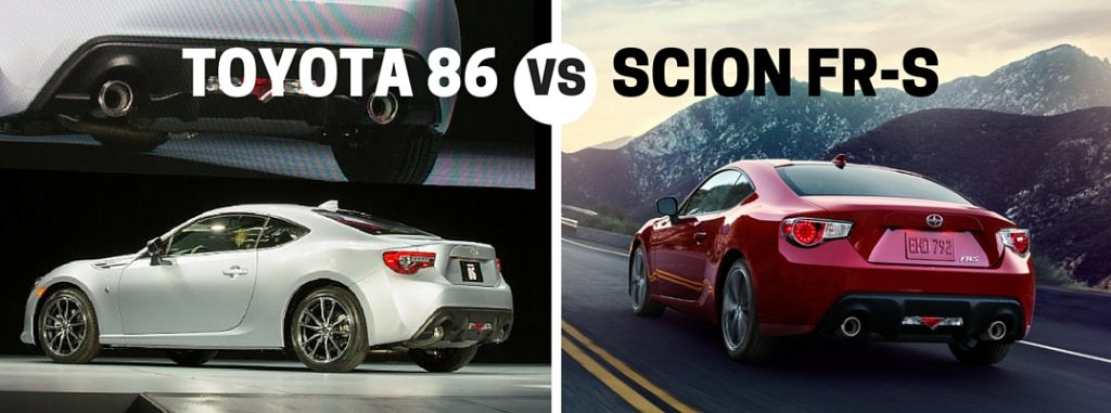 new yaris trd 2017 grand avanza 1.3 e std a/t toyota 86 vs 2016 scion fr-s comparison
