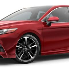 All New Camry 2018 Thailand 2019 Interior Toyota Color Options Supersonic Red