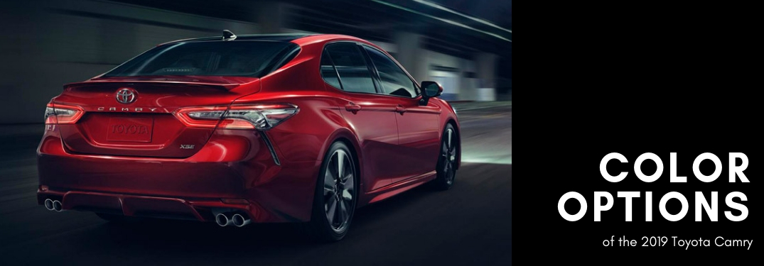 all new camry singapore harga mobil grand avanza 2019 toyota color options rear view of red with