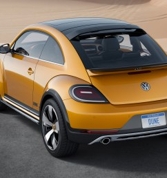 the baja bug will soon be factory built with the 2016 vw beetle dune vw beetle dune rear [ 2808 x 1758 Pixel ]