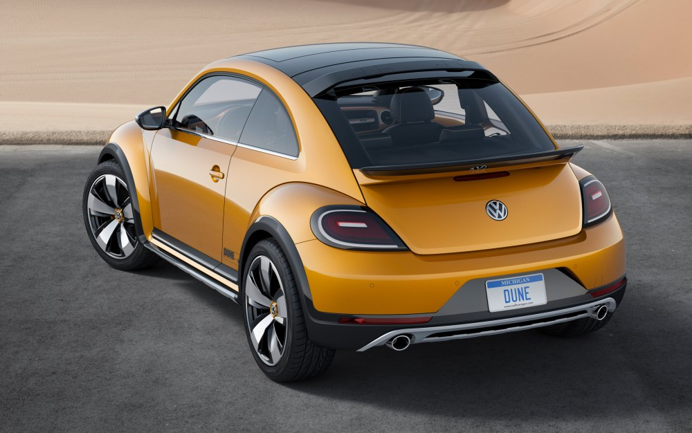 medium resolution of the baja bug will soon be factory built with the 2016 vw beetle dune vw beetle dune rear