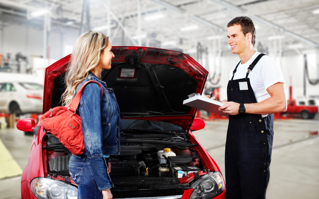 Car Mechanic In Uniform Auto Repair Service Folsom Lake Volkswage