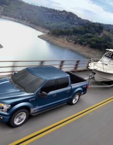 Ford  top down exterior while towing  boat  also and hauling capabilities features rh brandonford