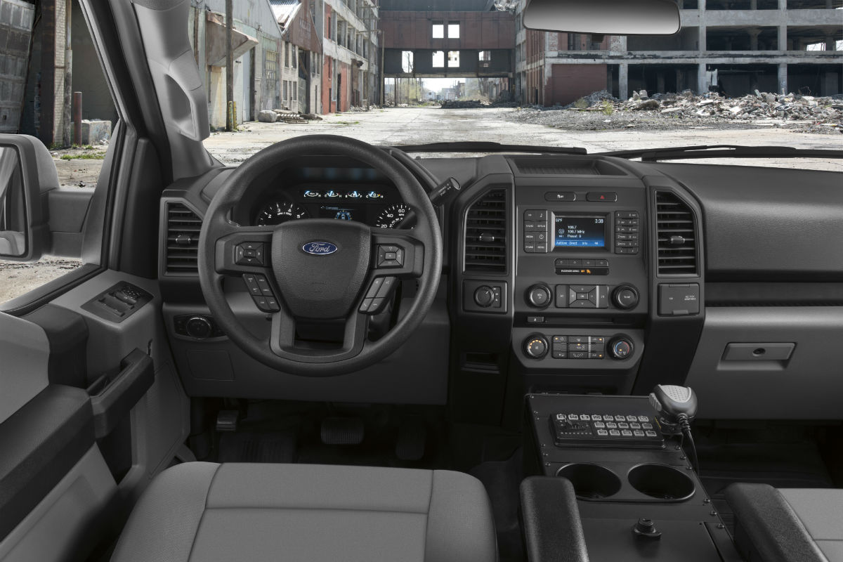 hight resolution of  2018 ford f 150 police responder front interior o