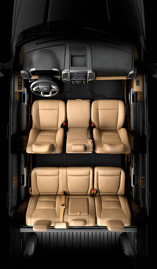 2015 Ford F 150 Interior : interior, Differences, Between, F-150