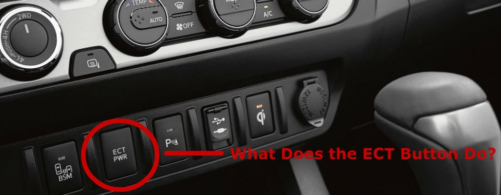 Xlr To 1 4 Wiring Diagram What Does The Toyota Tacoma Ect Button Do