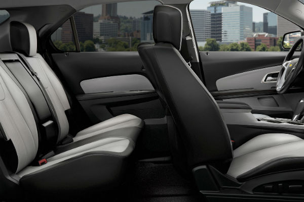How much room is in the 2017 Chevy Equinox