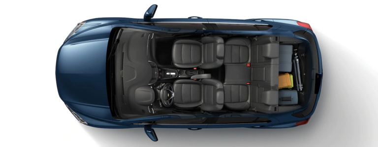 How much cargo room does the 2019 Chevy Trax have