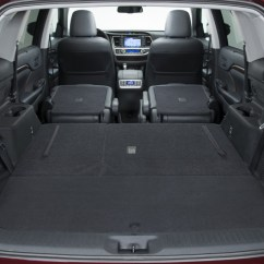 Toyota 4runner Captains Chairs How To Fix A Glider Rocking Chair Are 2016 Highlander Trim Levels Different Rear