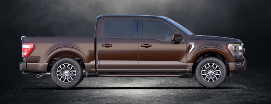 And the interior's feature count is through the roof. What Special Features Come On The 2021 Ford F 150 King Ranch Trim