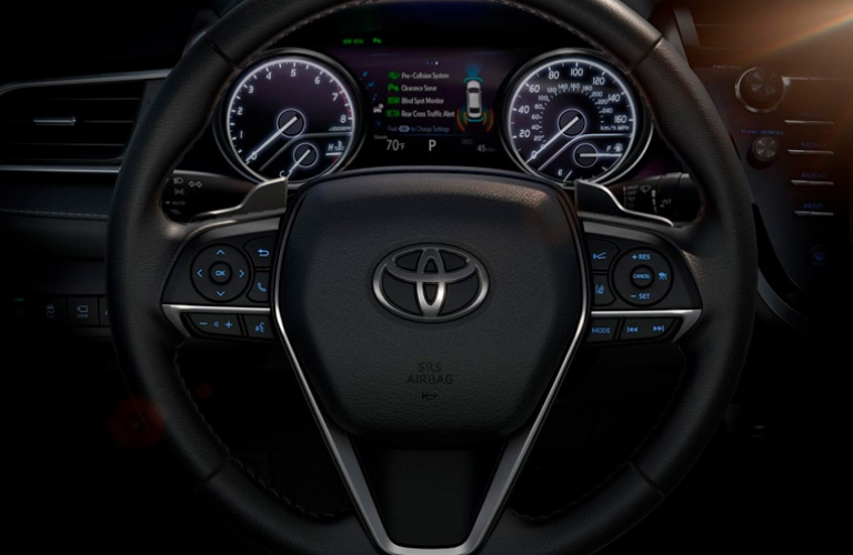 all new camry 2019 interior wiper grand avanza toyota features steering wheel