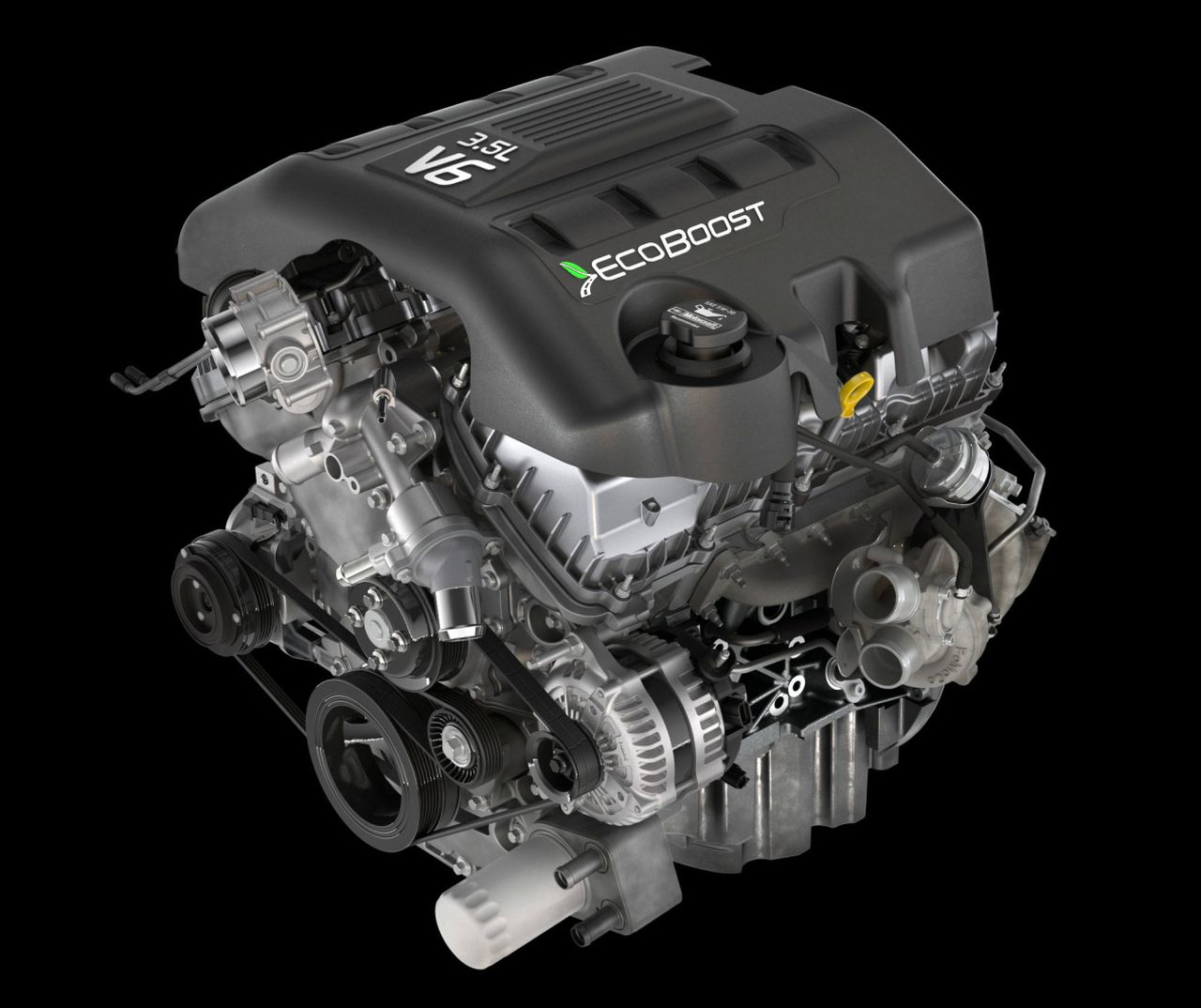 hight resolution of ford ecoboost engine