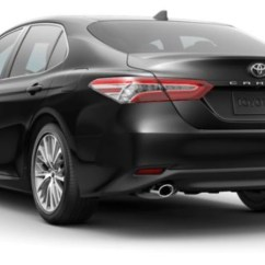All New Toyota Camry 2019 Grand Avanza Ceper Color Options For The Midnight Black Metallic In