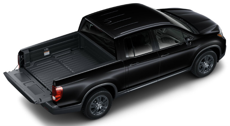 Cargo bed width (in., between wheel wells). How Much Can You Fit In The Bed Of The 2018 Ridgeline