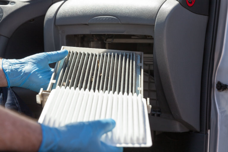 filter ac grand new avanza g 1.3 putih how often should you change your cabin does the air affect