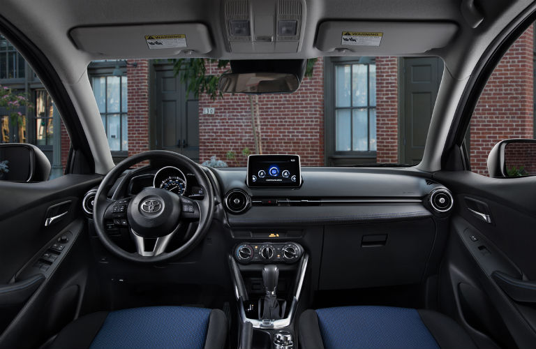 interior new yaris trd 2018 all camry sport toyota ia and cargo volume dashboard
