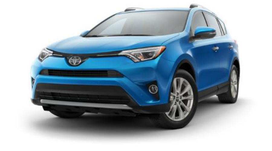 What Colors Does the 2017 Toyota RAV4 Come in?