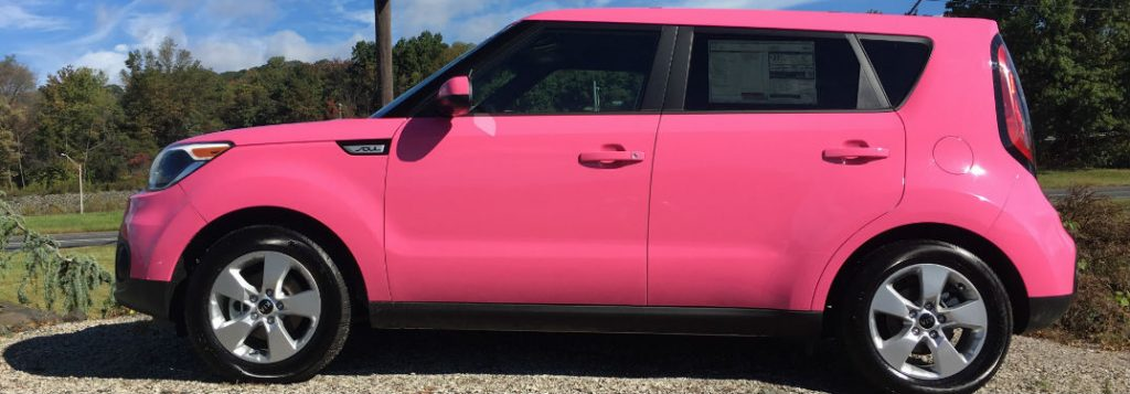 Pink Kia Soul On Display In Honor Of Breast Cancer Awareness