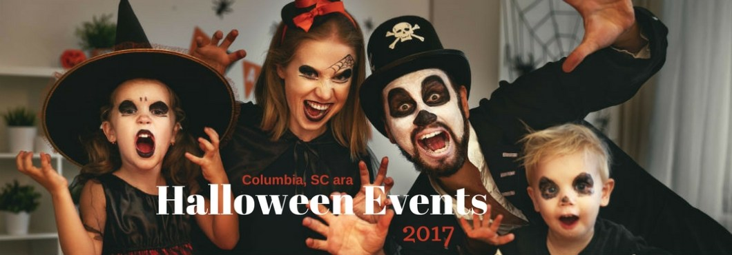 what are 2017 halloween events in the columbia sc area