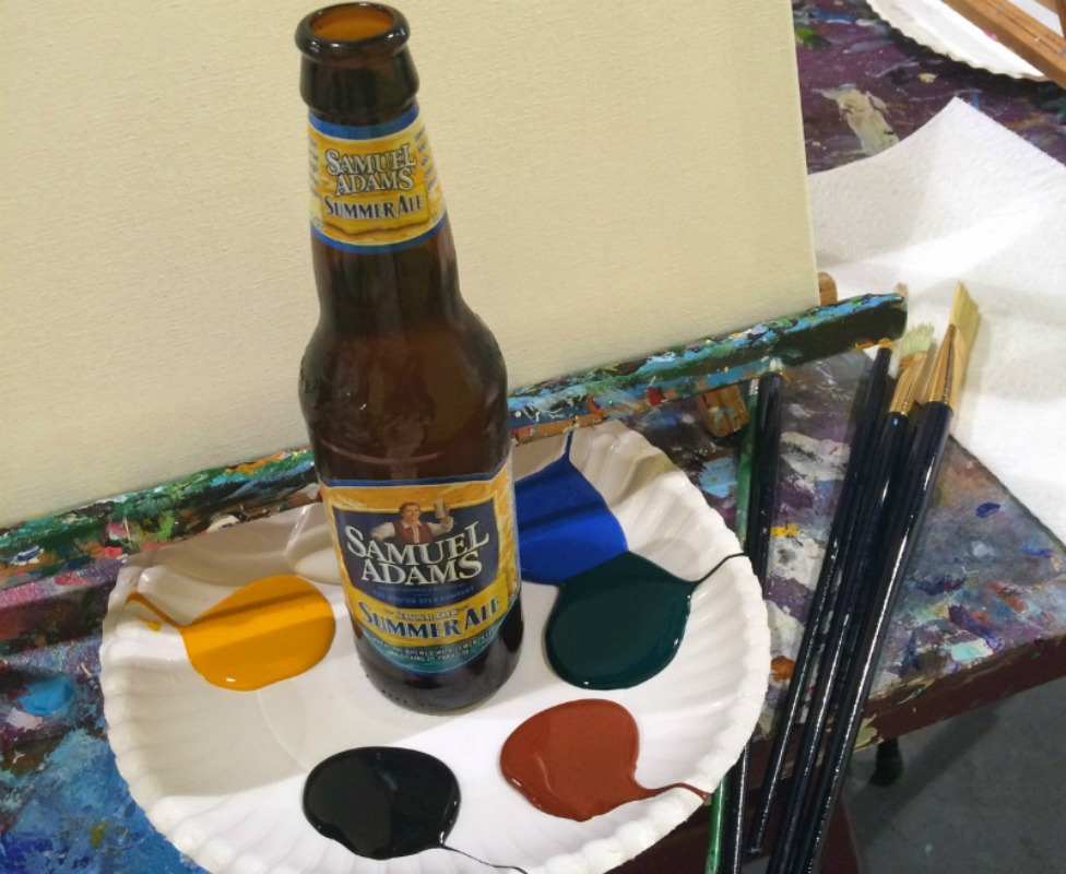Image result for sip and paint alcohol