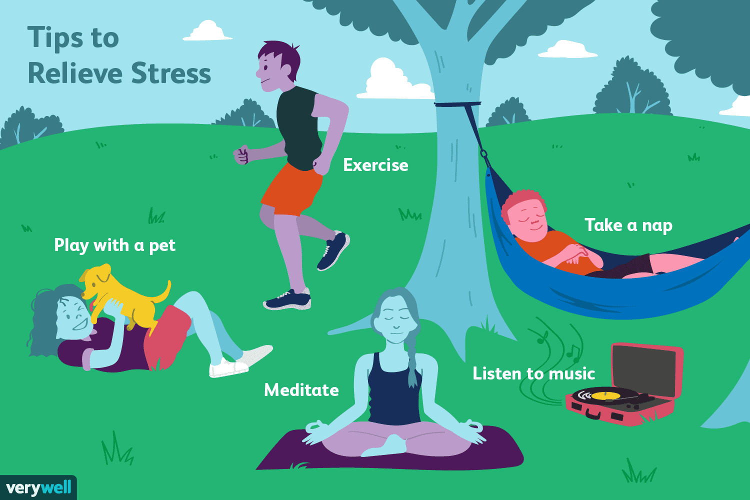 8 Easy Ways To Get Rid Of Stress And Tension