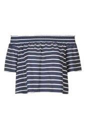 stripe-smock-bardot-blouse