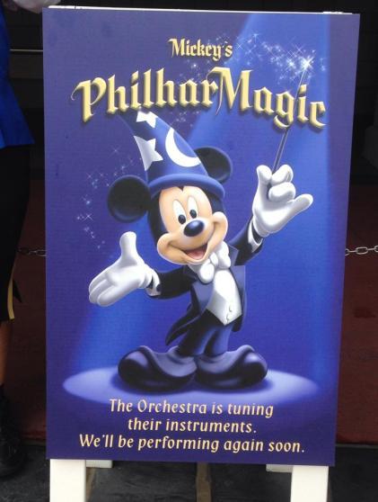philharmagic closed sign