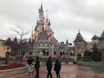 High Winds Damage Sleeping Beauty Castle